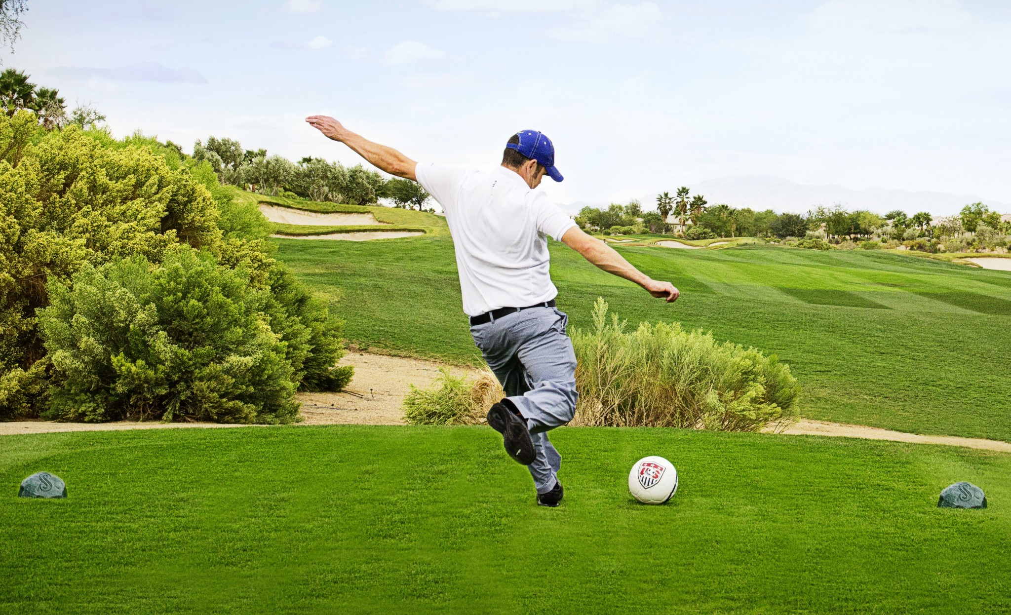 Footgolf, Beginners' golf