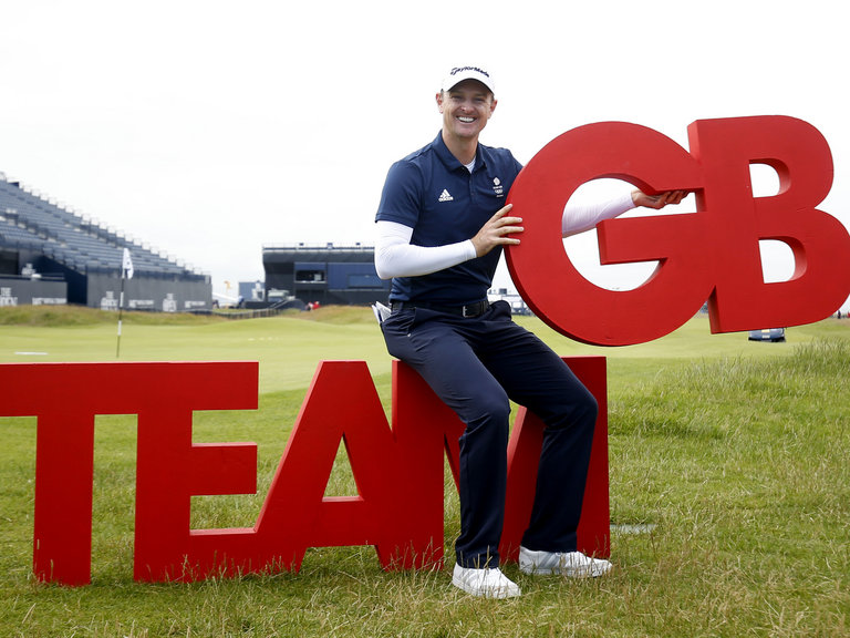 Justin Rose Olympic Champion