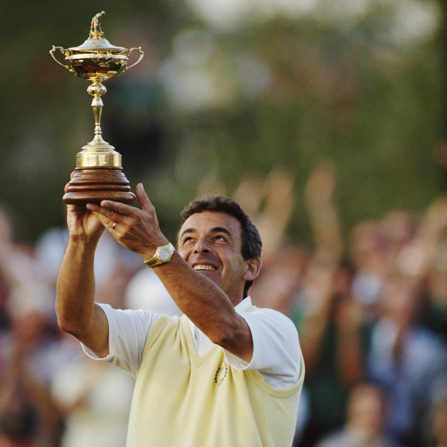 My golfing hero Tony Jacklin