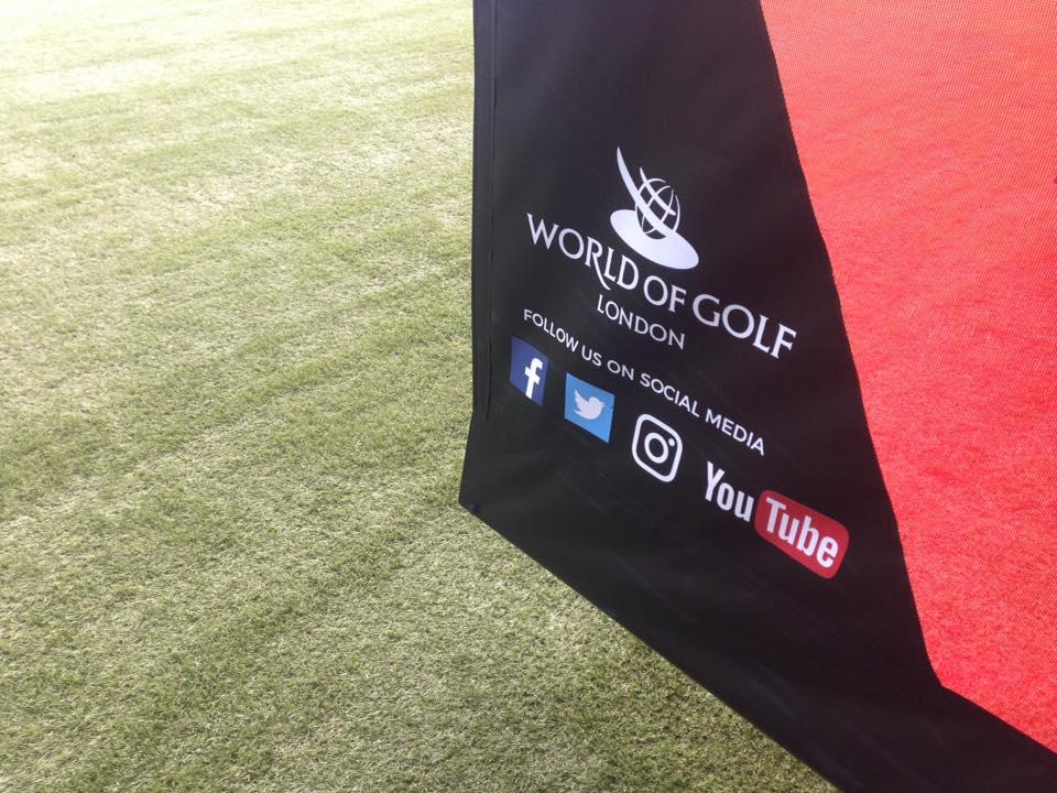 World of Golf bay divider