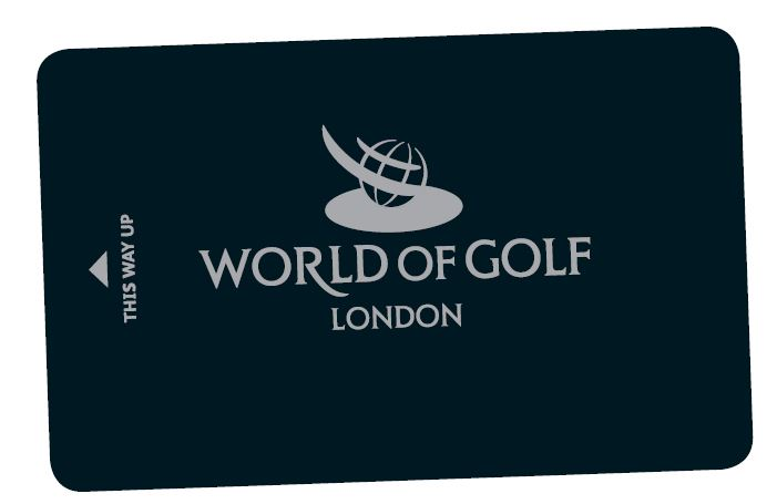 Range Card World of Golf London