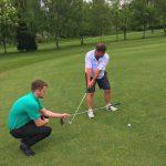 Take away in golf
