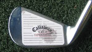 Impact tape on a golf club