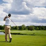 balanced golf swing